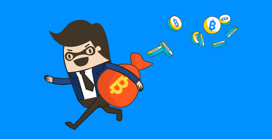 BTC phishing fraud image