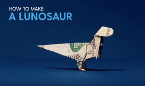 How to make a #lunosaur