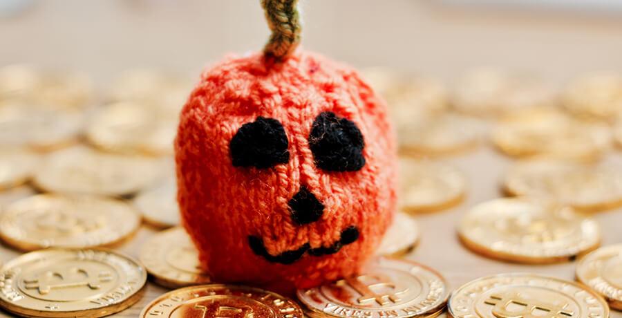 Luno bitcoin Halloween