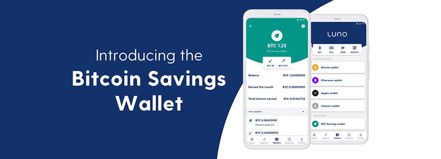 Introducing the Luno BTC Savings Wallet