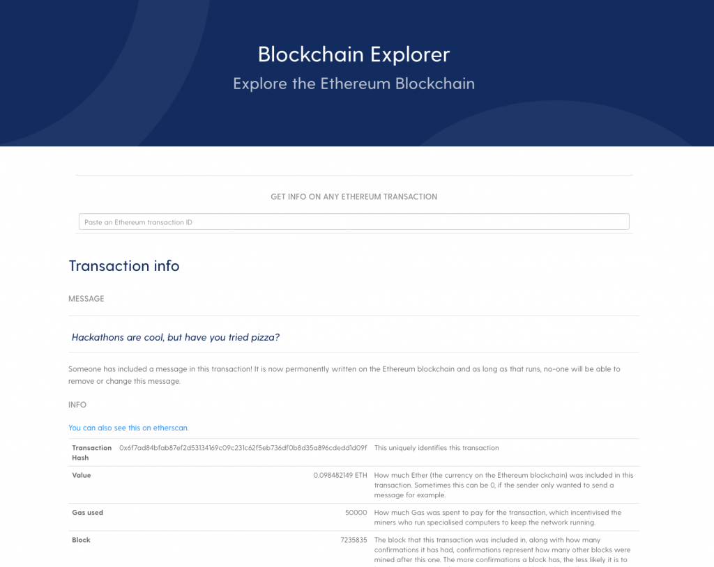 blockchain-explorer