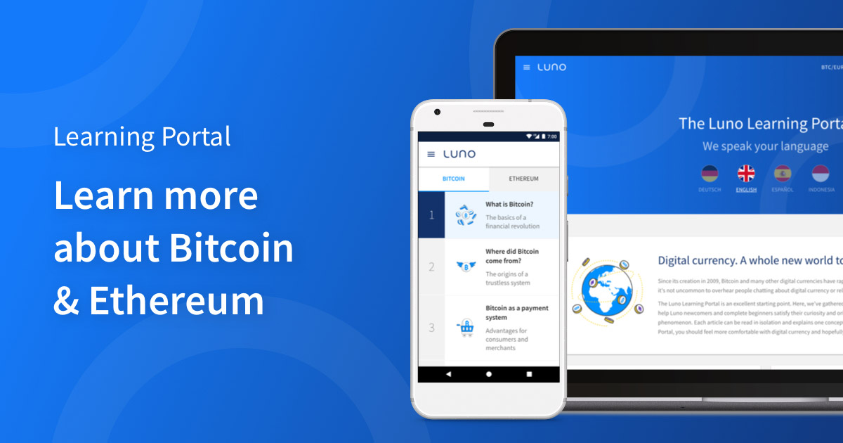 Digital currency exchange luno