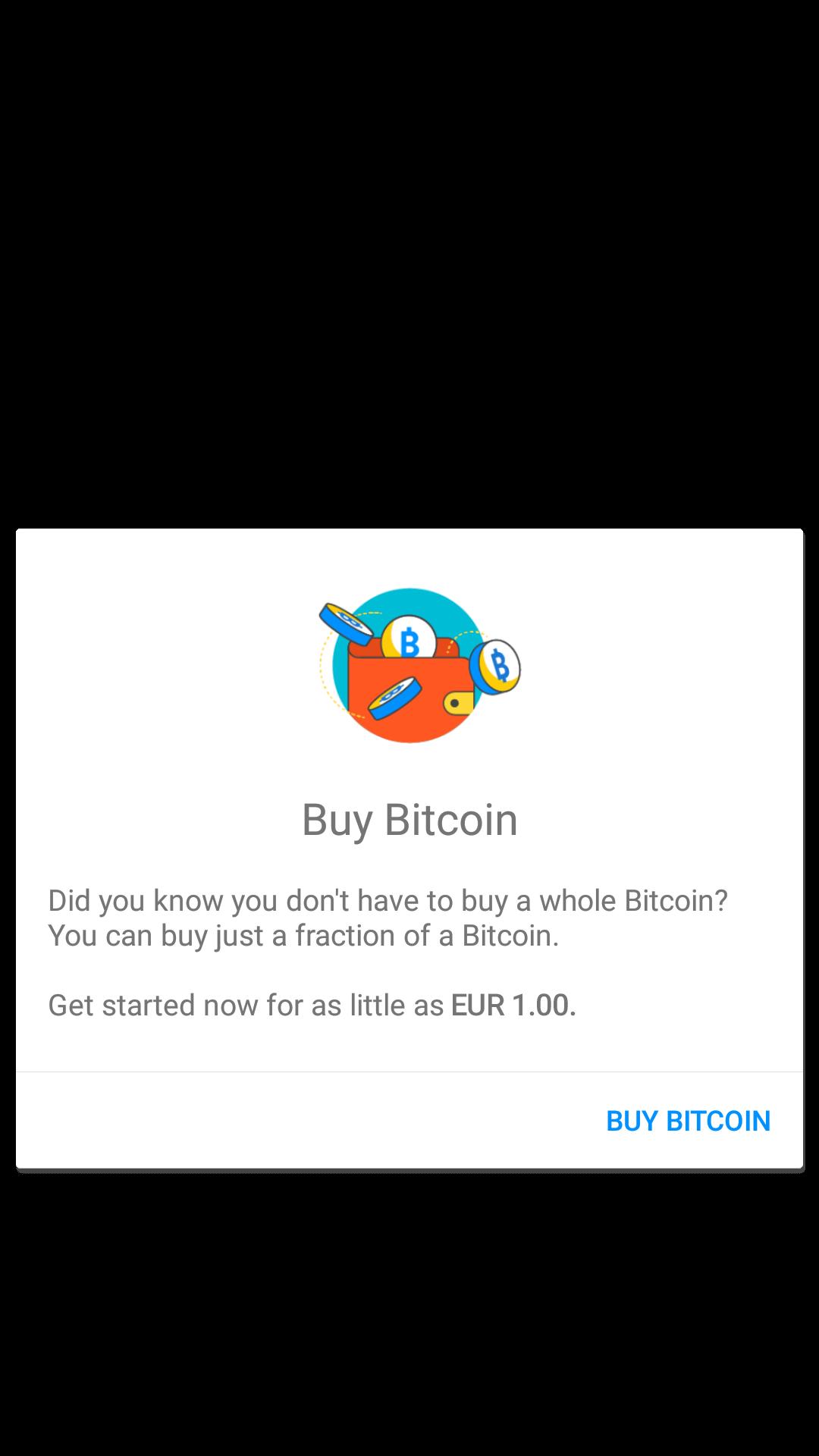 Screenshot of Luno App Sign Up