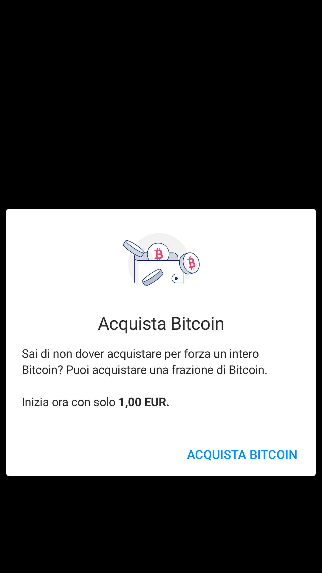 Screenshot of Luno App buy Bitcoin