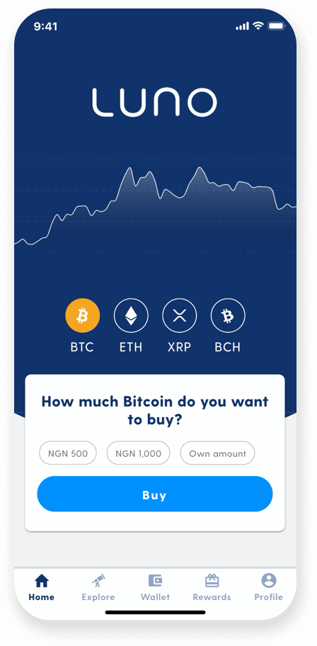 Buy crypto with ease