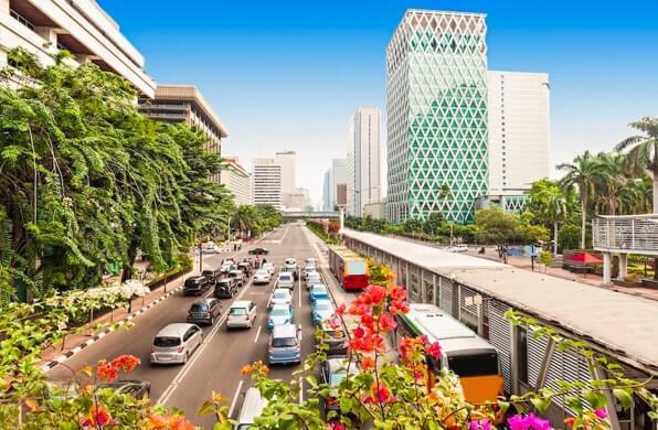 Image of Jakarta city