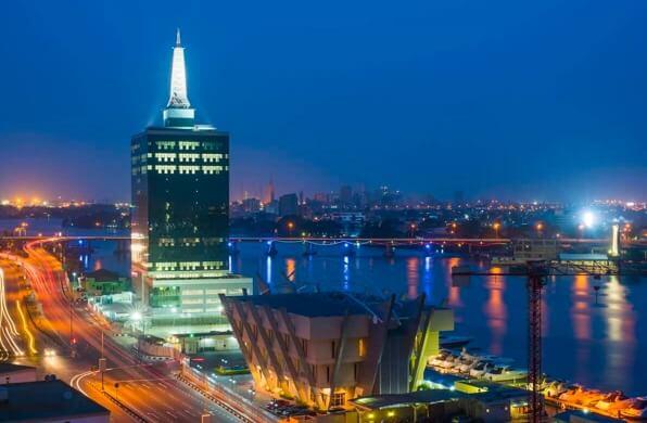 Image of Lagos city
