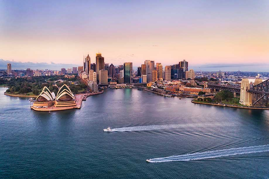 Image of Sydney city