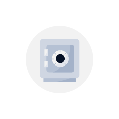 icône d'échange de sécurité